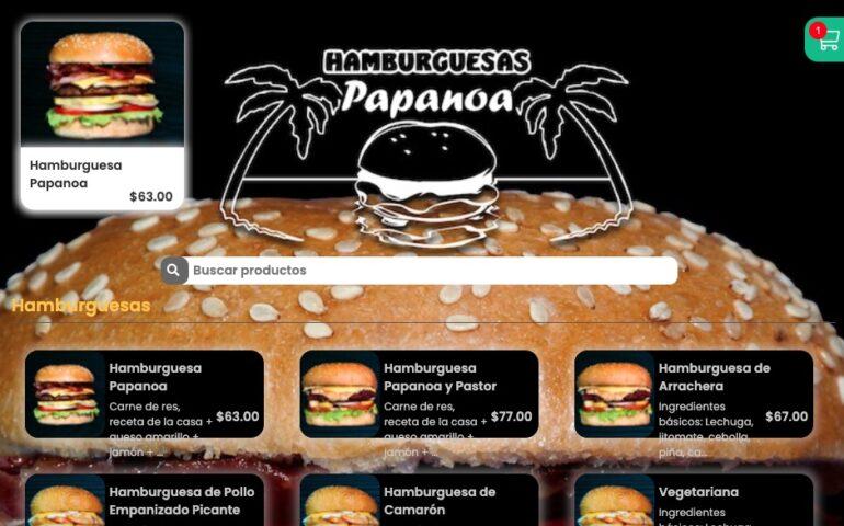 hamburguesas papanoa