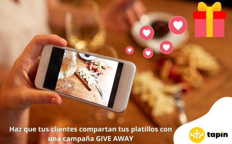 give away para restaurantes